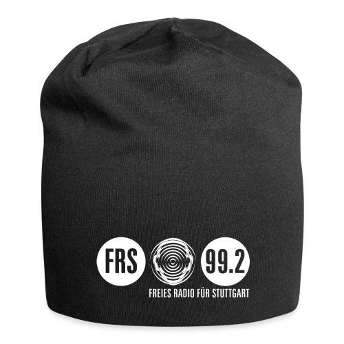 FRS Beany, Logo weiß - Jersey-Beanie