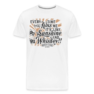 Sunshine & Whiskey Tee - Men's Premium T-Shirt