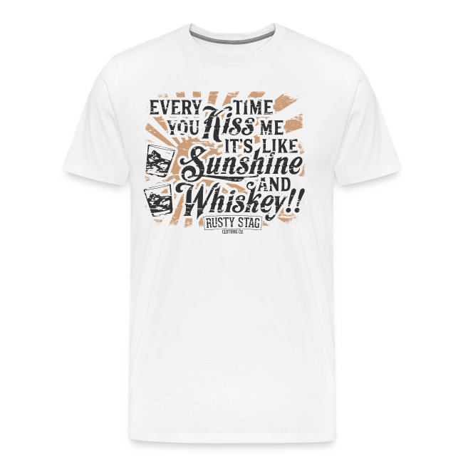 Sunshine & Whiskey Tee