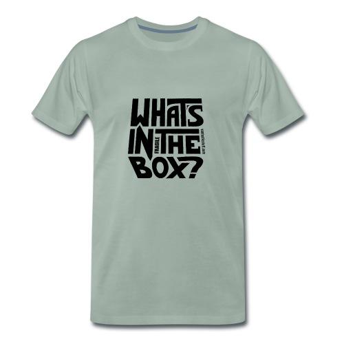 fragile - dark text - Men's Premium T-Shirt