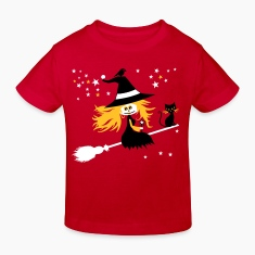 Red witch Kids' Shirts