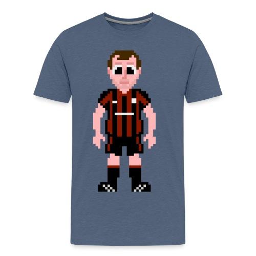 Kenny Irons Pixel Art T-shirt - Men's Premium T-Shirt