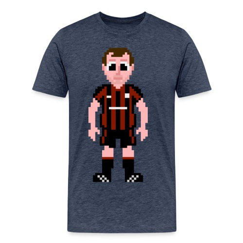 Kenny Irons Pixel Art T-shirt - Men's Premium T-Shirt