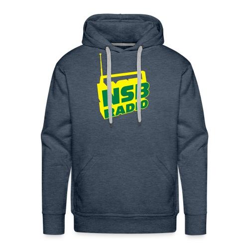 NSB Green and Yellow on Green Hoodie - Men's Premium Hoodie