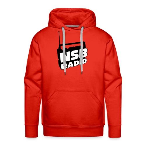 NSB Classic on Red Hoodie - Men's Premium Hoodie