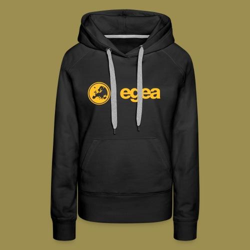 Hoodie EGEA Logo - WOMEN black - Women's Premium Hoodie