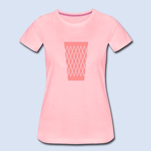 FRANKFURT DESIGN - s'Gerippte - Frauen Premium T-Shirt