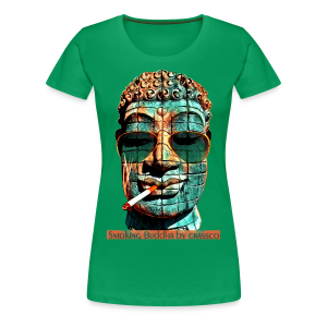 SMOKING BUDDHA - Frauen Premium T-Shirt