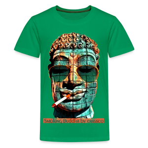 SMOKING BUDDHA - Teenager Premium T-Shirt
