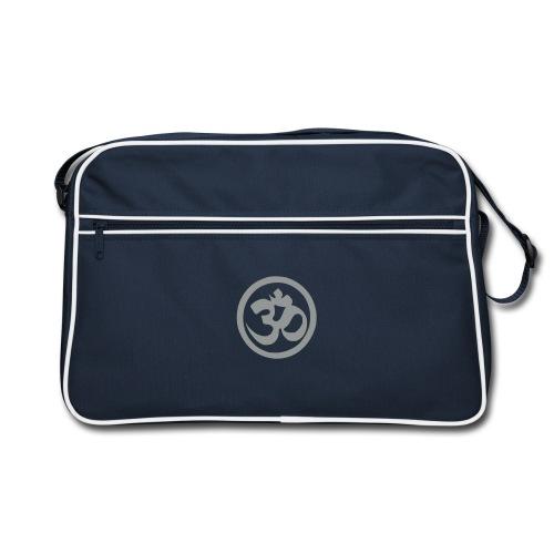 OM (Flock Print) - Retro Bag - Retro Tasche