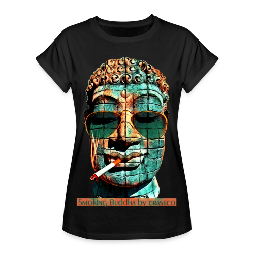 SMOKING BUDDHA - Frauen Oversize T-Shirt