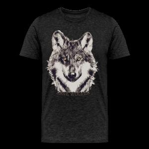 SAVE WOLVES - Männer Premium T-Shirt