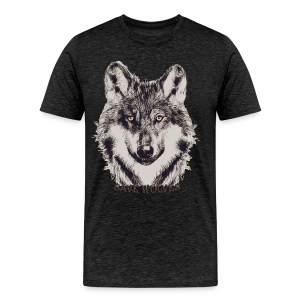 SAVE WOLVES - Männer Premium T-Shirt