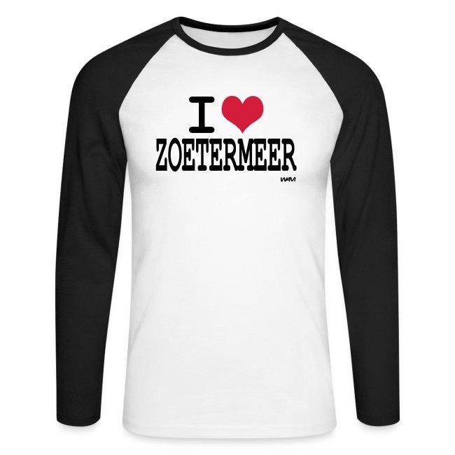 ShopI Lange Mannen Love Baseballshirt T Mouw Shirts Zoetermeer 3jAcL5q4R