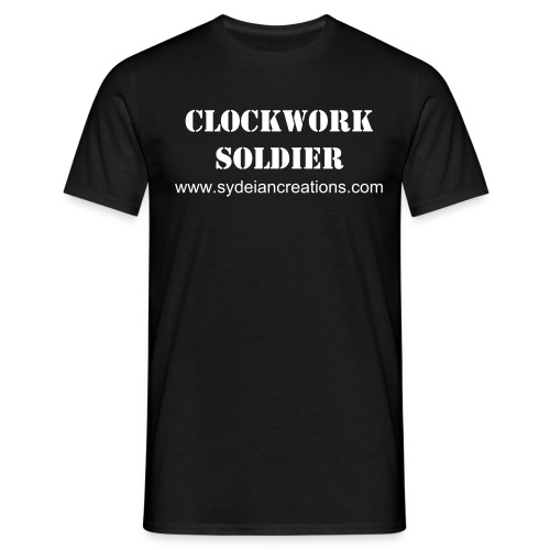 Clockwork Soldier - Men's T-Shirt