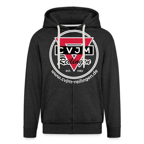 CVJM Zipper [uni] freie Farbwahl - Männer Premium Kapuzenjacke