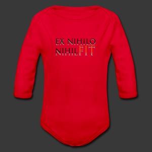 EX NIHILO NIHIL FIT - Organic Longsleeve Baby Bodysuit