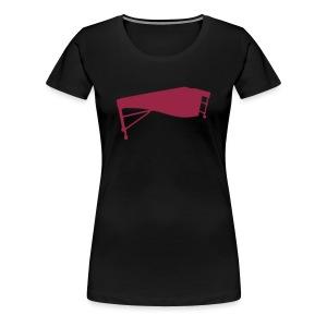 Marimba 2 Kontur Shirt (Damen) - Frauen Premium T-Shirt