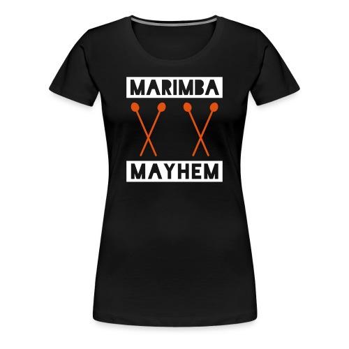 Marimba Mayhem Shirt (Damen) - Frauen Premium T-Shirt