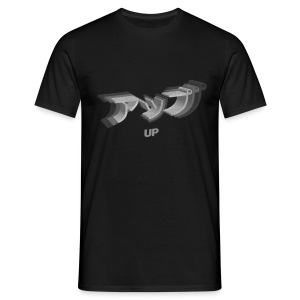 UP Glitch - Men's T-Shirt
