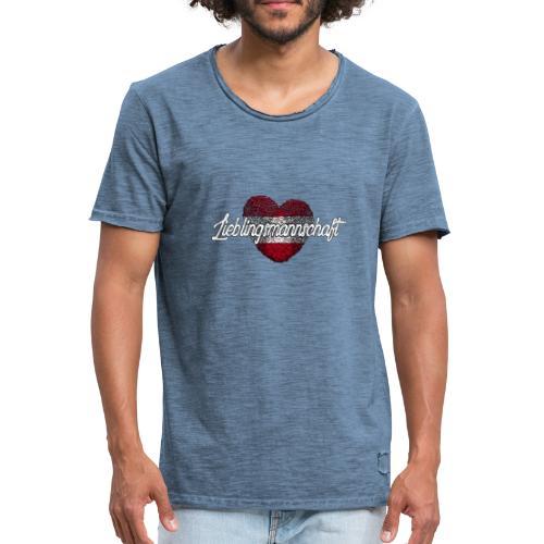 Lieblingsmannschaft (Männer Vintage-Shirt) - Männer Vintage T-Shirt