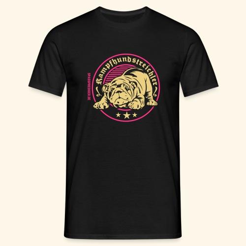 Kampfhundstreichler - Männer T-Shirt