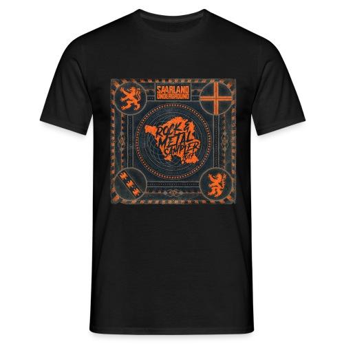 Saarland Underground (Cover SURMS 2017) - Männer T-Shirt