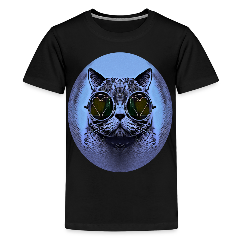FUNNY CAT - Teenager Premium T-Shirt