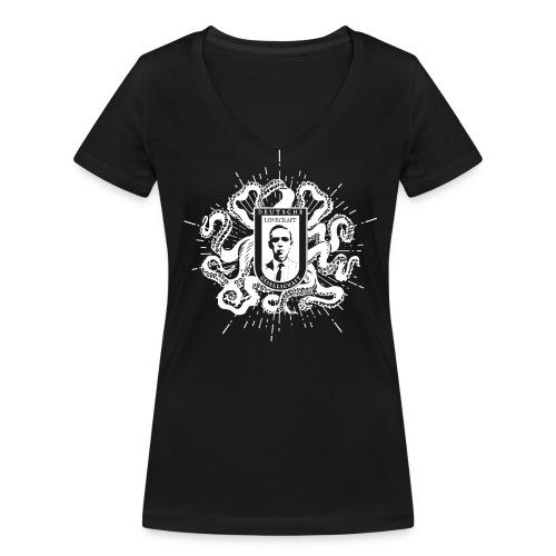 Frauen V-Shirt - Frauen Bio-T-Shirt mit V-Ausschnitt von Stanley & Stella