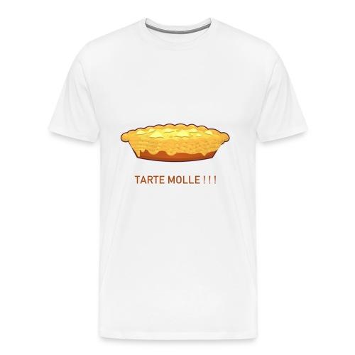 Tarte molle - T-shirt Premium Homme