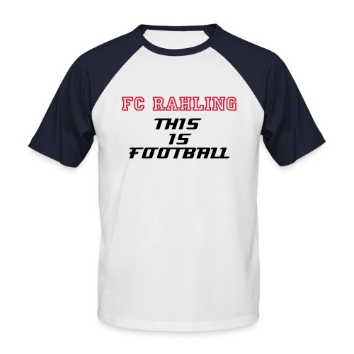 T SHIRT  THIS IS FOOTBALL - T-shirt baseball manches courtes Homme