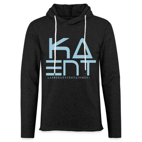 KaEnt Girly Hoodie/Sweatshirt Schwarz - Leichtes Kapuzensweatshirt Unisex