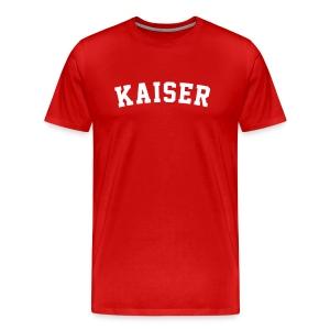 Daniel Kaiser Red - Männer Premium T-Shirt