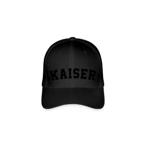 Black Flex Cap - Flexfit Baseballkappe