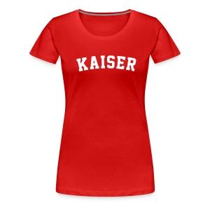 Daniel Kaiser Red - Frauen Premium T-Shirt