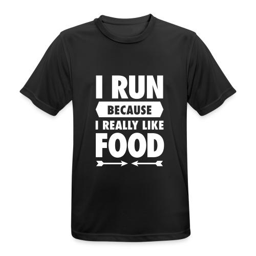 6b) Männer T-Shirt atmungsaktiv - Männer T-Shirt atmungsaktiv