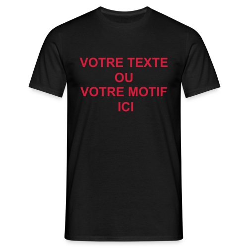 TEST - T-shirt Homme