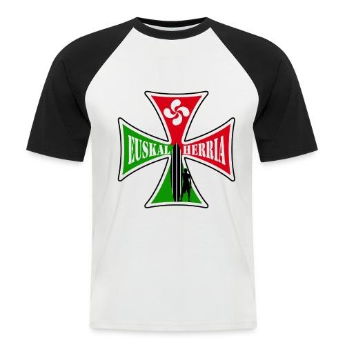 Euskal Herria surfing - Men's Baseball T-Shirt