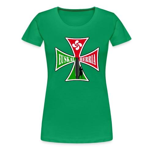 Euskal Herria surfing - Women's Premium T-Shirt