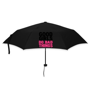 parapluie bleu 'good girls do bad things - Parapluie standard