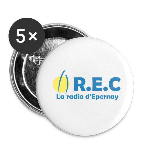 Badge R.E.C - Badge petit 25 mm