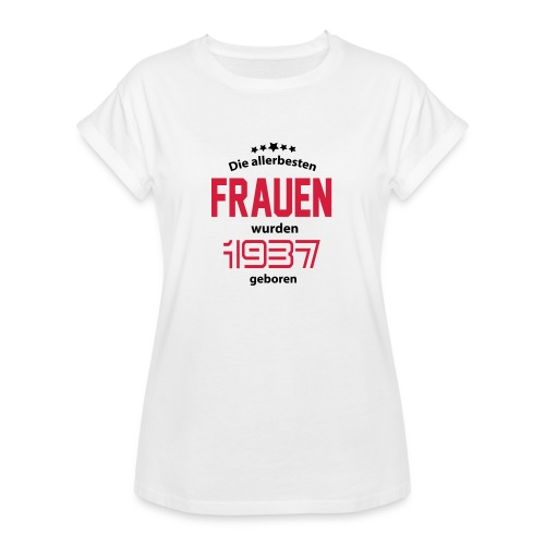geburtstag - Frauen Oversize T-Shirt