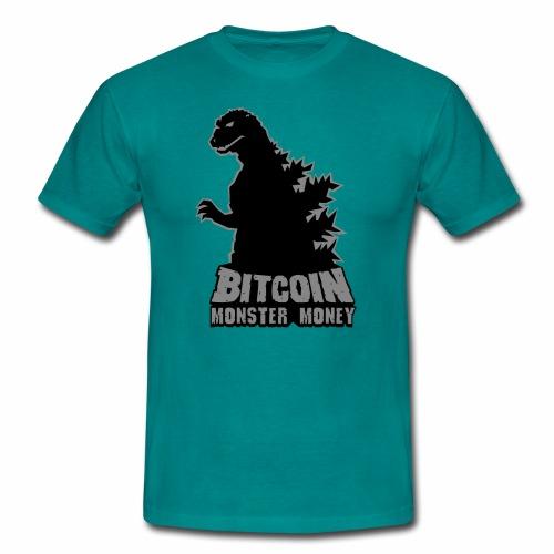 Bitcoin Monster Money. - Men's T-Shirt