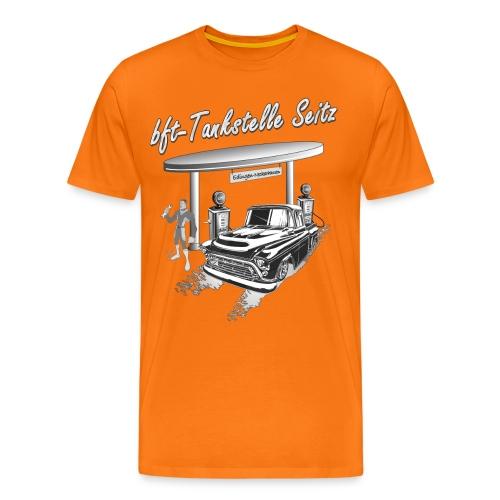 bft Tankstelle Seitz - Männer Premium T-Shirt