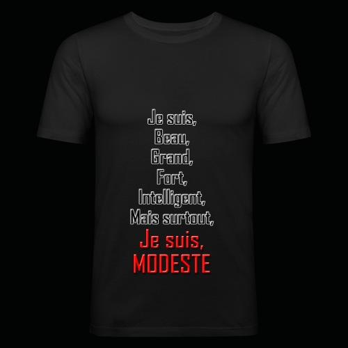 Tshirt moulant homme MODESTIE - T-shirt près du corps Homme