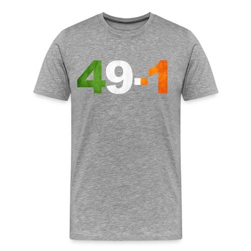 49-1 Irish Boxing King - Men's Premium T-Shirt