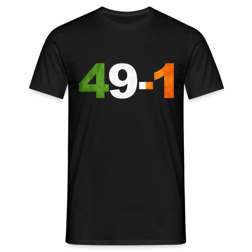 49-1 Irish Boxing King - Men's T-Shirt