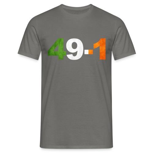 49-1 Irish Boxing King - Men's T-Shirt