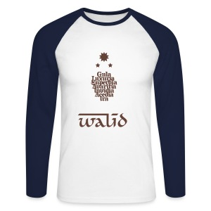 WALID - T-shirt baseball manches longues Homme