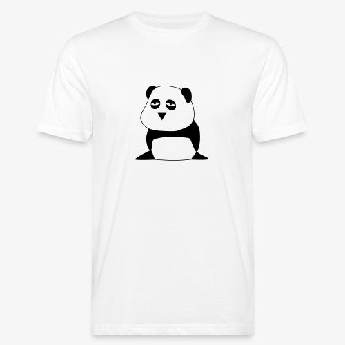 Big Panda | Bio (Flockdruck) - Männer Bio-T-Shirt